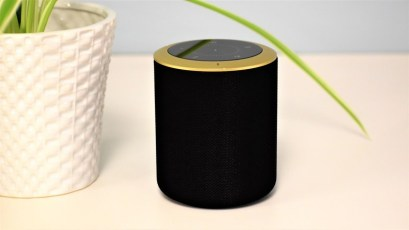The Milo Smart Home Speaker (Milo) by Hogar Controls is the first-ever combination smart speaker and smart home hub to include support for Z-Wave Plus and adds multi-platform access for Zigbee, Wi-Fi and Bluetooth devices. Milo's integrated smart hub feature also works with the Google Assistant so it can stream music, news, weather, and so much more. (PRNewsfoto/Hogar Controls)
