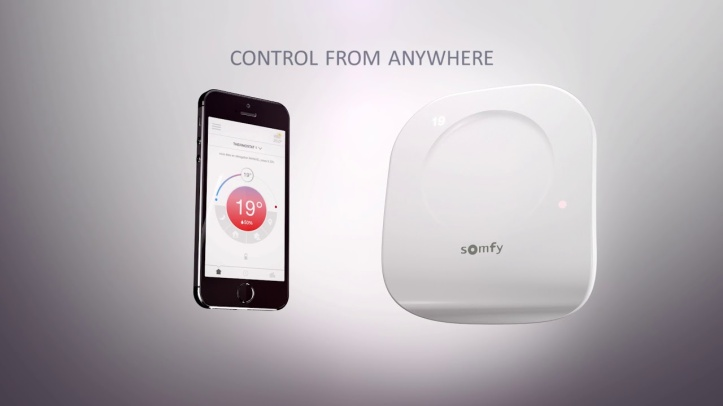 Somfy-Thermostat