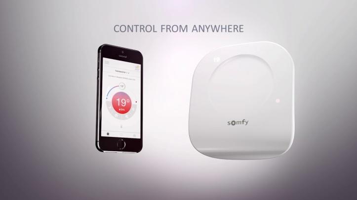 Somfy-Thermostat